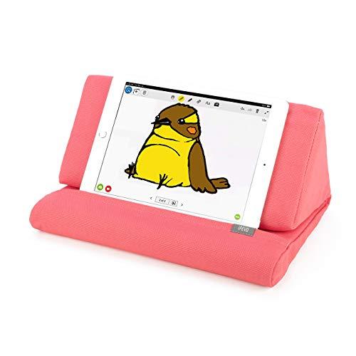 Almohada de Apoyo IPEVO PadPillow para Todas Las Generaciones de iPad Air, iPad Mini, iPad 4, iPad 3, iPad 2, iPad 1, Nexus y Galaxy - Color Rosa