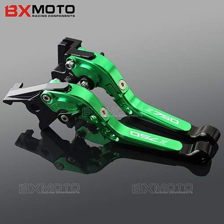 Brakes Motorcycle Accessories for Kawasaki Z750 Z 750 20072012 CNC Aluminum Folding Extendable Brake Clutch Levers Z750 Logo  (color