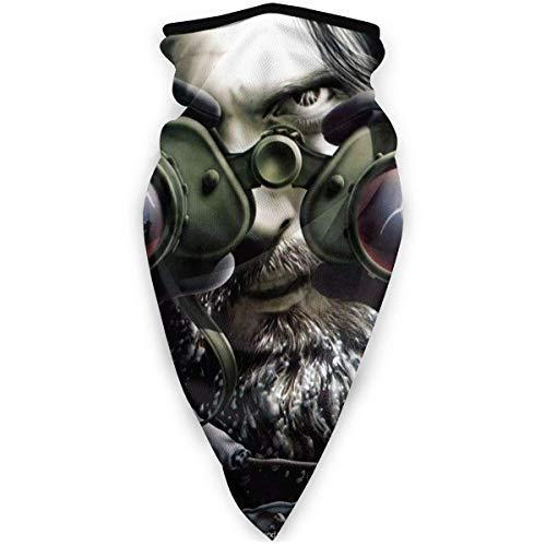 HCKZ Jethro Tull Stormwatch Fleece Neck Warmer Gamasche Nahtloses Gesicht im Freien Kaltes Wetter Winterhalsmanschette Winddichte atmungsaktive Bandana-Sturmhauben für das Motorradfahren