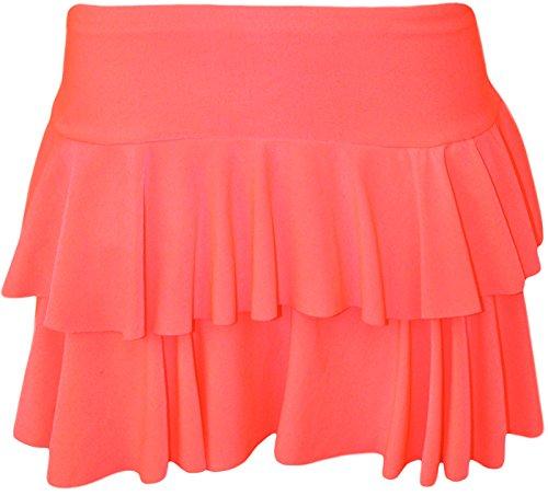 Planet_Fancy_Dress Damen Rock, Einfarbig Medium Gr. Large/X-Large, Rosa - Hot Pink