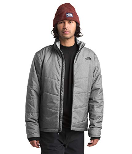 The North Face Men's Junction Insulated Jacket, TNF Medium Grey Heather, XL
