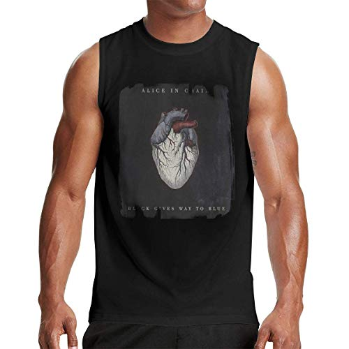 Baker Mayfield Flag Plant Men's Music Band Fashion Sleeveless T-Shirt Cotton Muscle Shirt Exercise tee Black,Camisetas y Tops