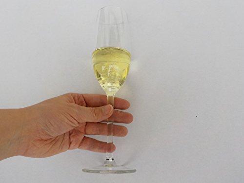 ERRO Flûte à Champagne factice – Top Flûte de Champagne décorée Fake Food, Plastique Sylvester