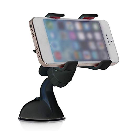 GUDUO Compatible Car standy Headrest And Holder Adjustable Backseat Stand Rotating Cradle Back Seat Dock Strong Grip Multi-Angle Car Mount for Phone 6//7//8//lus Phone X XR Max Android Tablets-Red