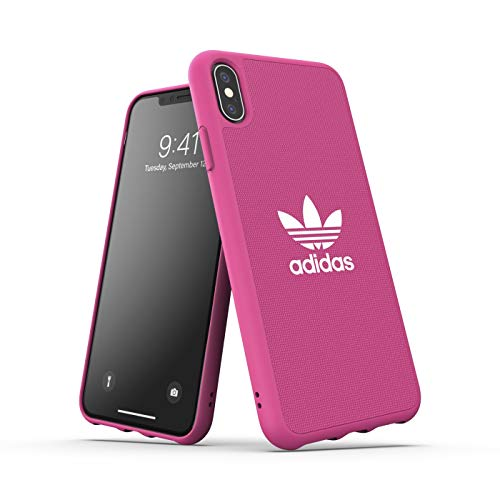 adidas Originals Canvas Molded iPhone XS Max Schutzhülle - Shock Pink