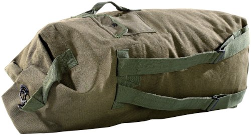 Xcase großer Seesack: Extragroßer Canvas-Seesack, 100 Liter (Seesack Tasche)