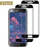 SNUNGPHIR Cristal Templado Compatible para Samsung Galaxy S6 Edge, [2...