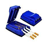 Cigarette Rolling Machine, Three Tubes Manual Cigarette Roller Tube Tobacco Maker Tube Filling Machine - Rolling Tobacco Injector/Filler