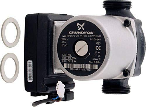 WOLF Heizkreispumpe Grundfos UPER 20-70 F1 130 für CGB-50 8611194