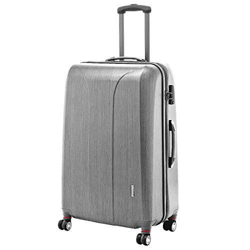 March 15 Trading New Carat 4-Rollen-Trolley 75 cm Silver Brushed