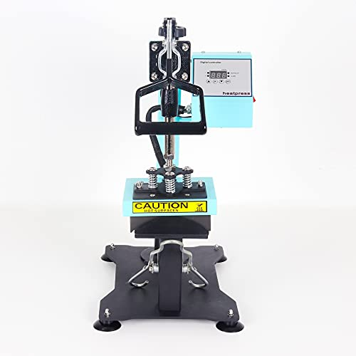 RICOO Mützen-Presse Transfer-Presse Textildruck-Presse CT505-TB Thermo-Presse Cap-Presse, Farbe:Türkisblau - 3