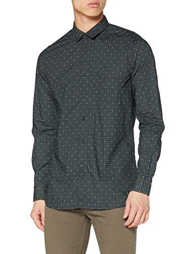 BOSS Magneton_1 Camisa, Medium Green (316), XS para Hombre