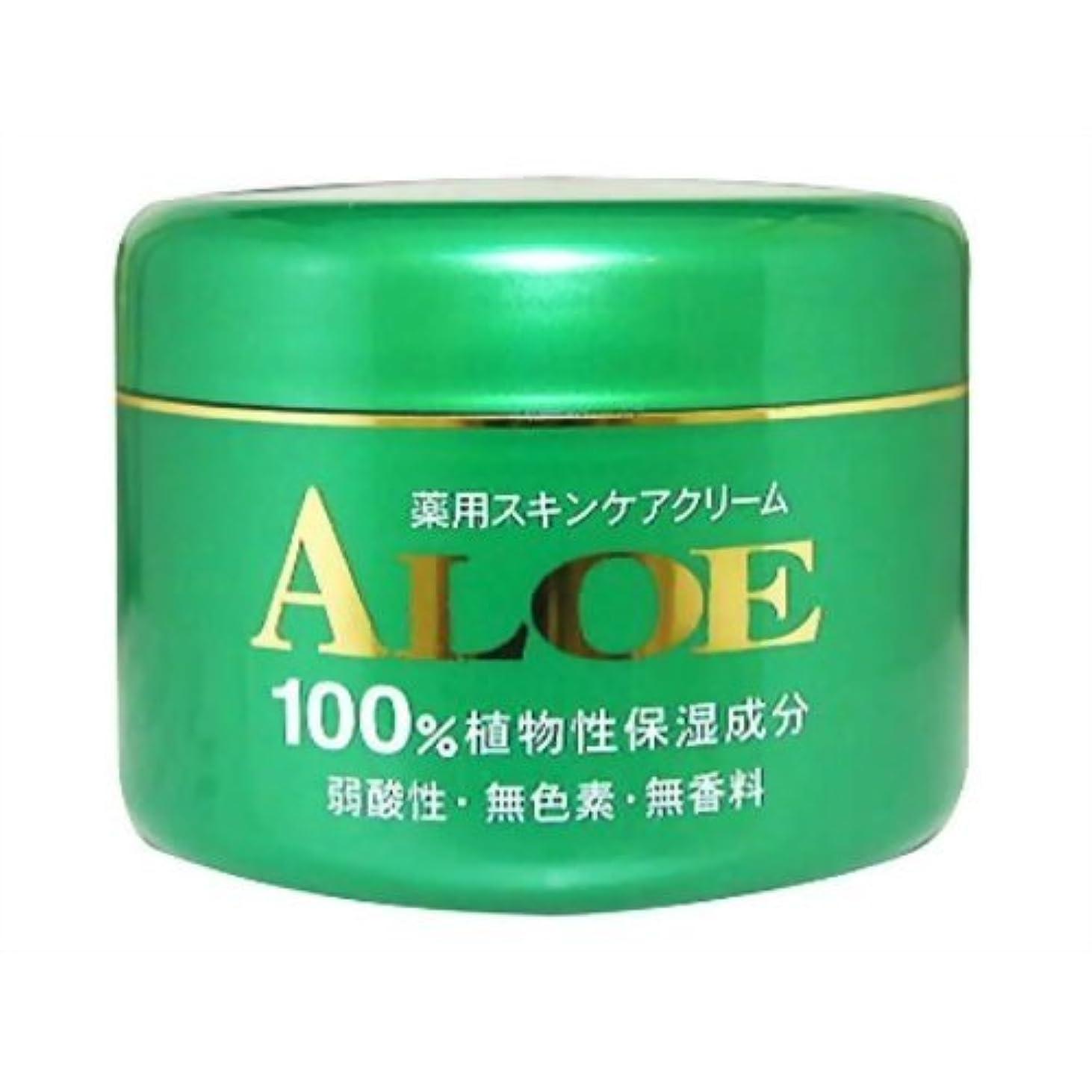 石油サンダー憂鬱なアロエ薬用スキンケアクリーム185g
