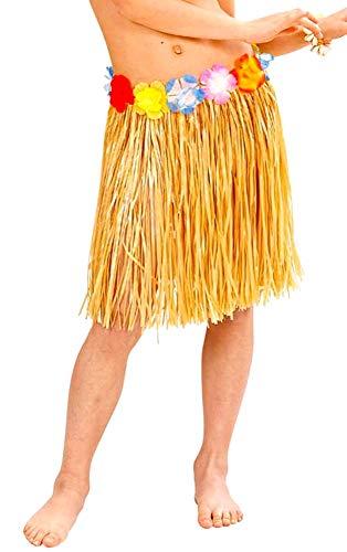40 cm - jupe - hawaï - hawaïen - moana - vaiana - océanie - déguise femme pour enfant - halloween - carnaval - fille - idée cadeau originale cosplay