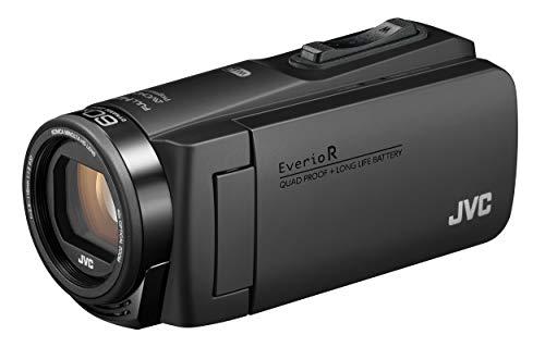 JVCKENWOODJVCビデオカメラEverioR防水防塵Wi-Fi64GB内蔵メモリーマットブラックGZ-RX680-B