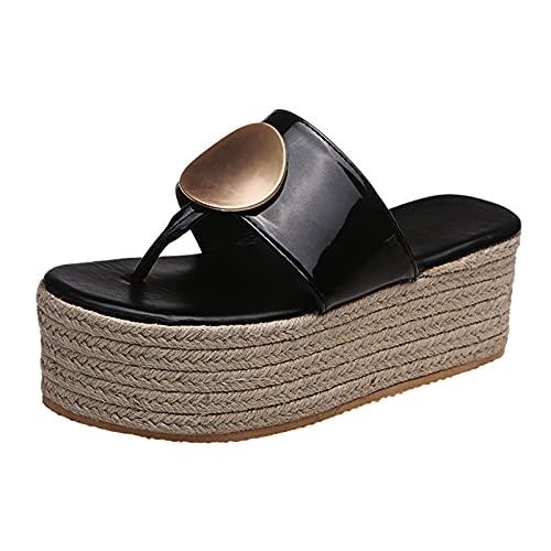 Cork Wedges For Women Abound Sandal Sandles High Heals Strap Platform Sandals Formal Dresses Bathing Suits Sandals Slip Resistant Shoes Glitter Wedding Heels