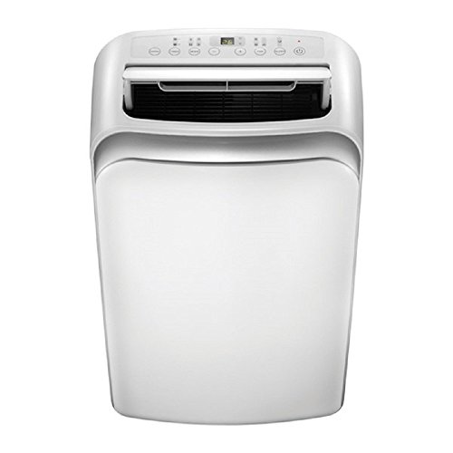Ideal-Air AC   12,000 BTU   Portable Air Conditioner, Remote Control Included, LED Display Touch Control Panel, Provides Cooling Up to 750 Square Feet - UL Listed.