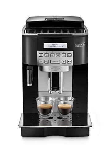 De Longhi Magnifica S ECAM22.360.B Macchina da Caffè Automatica per Espresso e Cappuccino, Caffè in Grani o in Polvere, 1450 W, Nero