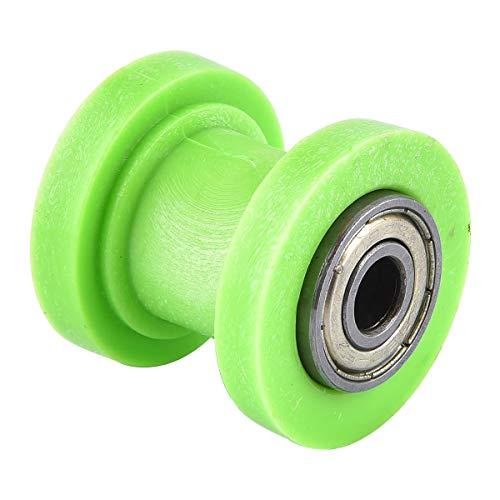 Cursor de rodillo de cadena de 8 mm de diámetro interior, repuesto para tensor de rueda de guía china Dirtbike Pitbike moto ATV verde
