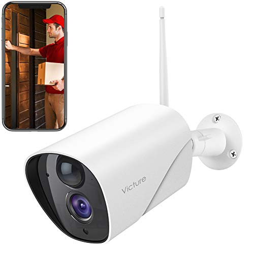 Lowest Prices! Victure 1080P Outdoor Security Camera IP65 Weatherproof Home Surveillance IP CCTV Cam...
