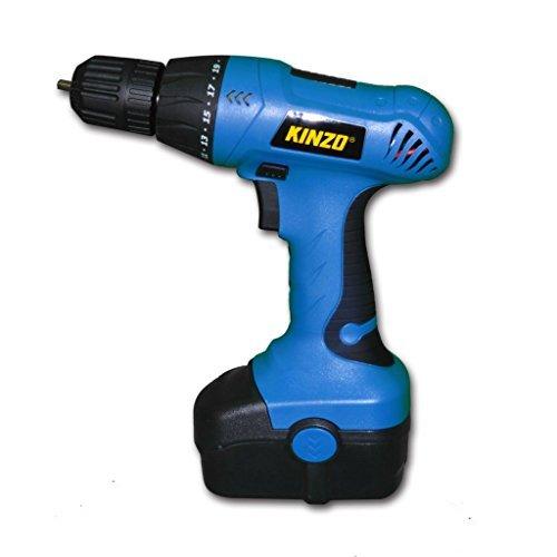 Kinzo 871125272180 EDCO-8711252721804-0093 Akku-Bohrschrauber, 230 W, 230 V