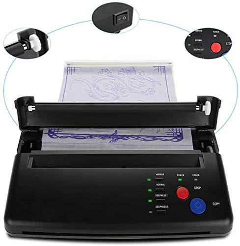 WXCCK Tätowierung-Übergangsmaschine Zeichnung Thermal Stencil Maker Kopierer Zum Drucken Tattoo Transfer Druckpapier Und Thermopapier