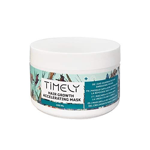 Timely - Mascarilla para el cabello nutritiva y aceleradora del crecimiento, 300 ml