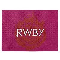 Rwby (7) 520ピースのジグソーパズル各種の漫画の風景人物のおもちゃジグソーパズル木質【パズルデコレーション】 (38.6x52.2cm)