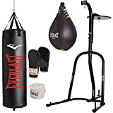 Everlast Single-Station Heavy Bag Stand with a 70-lb. Heavy Bag Kit