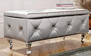 Amazon.com: Silver - Storage Benches / Entryway Furniture: Home ...