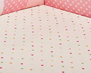 Kids Line Mosaic Garden Fitted Sheet (Discontinued by Manufacturer)