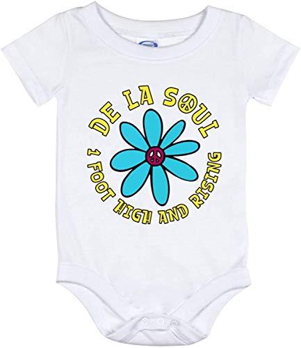 Toll2452 Body de bebé de 1 pie de alto y creciente traje de bebé hippie gitano, mameluco para bebé de rap de los 90