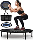 FITPULSE Mini Trampoline for Adults - Rebounder Trampoline Indoor...