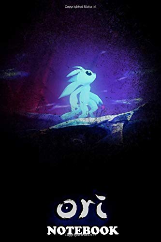 Notebook: Ori And The Will Of The Wisps , Journal for Writing, College Ruled Size 6' x 9', 110 Pages