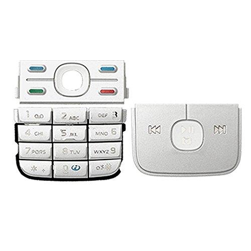 Silvery sostituzione tastiera tastierino di riparazione per Nokia 5700