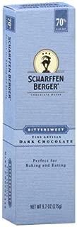 Scharffen Berger 70% Bittersweet Dark Chocolate, 9.7-Ounce Package (Pack of 6)