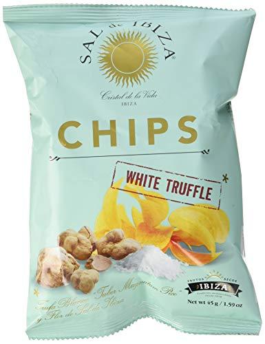 Sal de Ibiza Chips Truffles, Kartoffelchips mit weißen Trüffeln, 1er Pack (1 x 45 g)