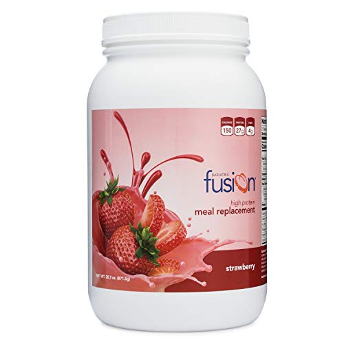 Bariatric Fusion Meal Replacement Protein 21 Serving Tub Cappuccino for Bariatric Surgery Patients Including Gastric Bypass & Sleeve Gastrectomy