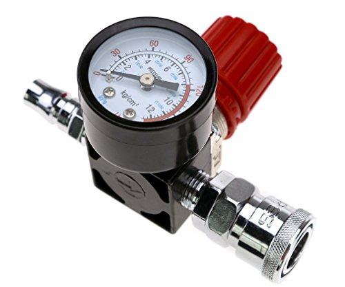 Druckregler für Druckluftkompressor, 6,35 mm, 140 PSI Steuerventil, 240 V