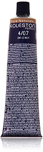 Wella Professionals Koleston Perfect Permanente CremeHaarfarbe, 4/ 07 mittel braun-natur, 1er Pack (1 x 60 ml)