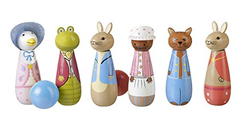 Beatrix Potter Rabbit Peter Rabbit & Friends Wooden Skittles
