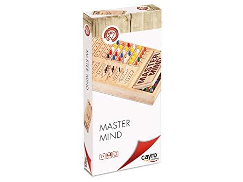 Cayro - Master Mind Colores de Madera - Juego de razonamiento y Estrategia - Juego de Mesa - Desarrollo de Habilidades cognitivas e inteligencias múltiples - Juego de Mesa (626)