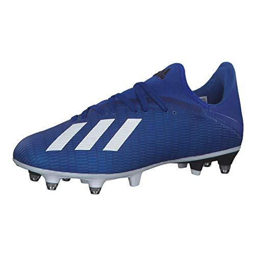 adidas Herren X 19.3 Sg Fußballschuhe, Blau Team Royal Blue FTWR White Core Black, 42 EU