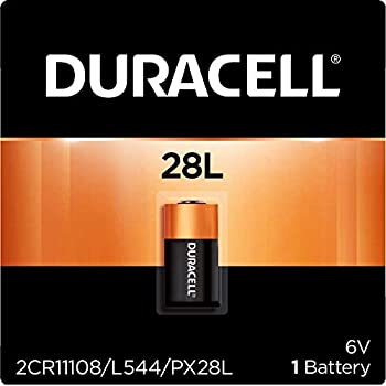 Duracell - 28L High Power Lithium Batteries - 1 count