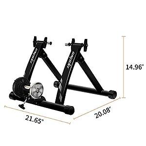unisky Soporte magnético para Entrenamiento de Bicicleta para Interior y Bicicleta de montaña