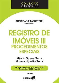 Registro Imóveis III Procedimentos Especiais