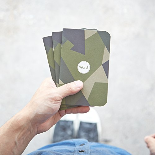 Word. Notebooks Swedish Camo (3-pack) Photo #3