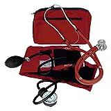 Dixie Ems Blood Pressure and Sprague Stethoscope Kit (BURGUNDY)