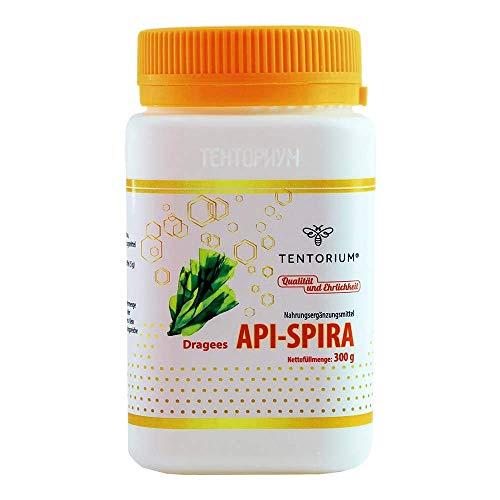 Api-Spira mit Spirulina, Propolisextrakt, Blütenpollen (Immunsystem, Cholesterinsenker) - 100% natürliches Nahrungsergänzungsmittel von Tentorium