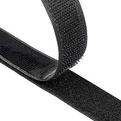 ღ 【Self-adhesive Hook and Loop Tape】 - Package includes 1 roll of hook tape and one loop tape , The dimensions are: 8m long x 20mm wide. Can be cut to the any sizes. ღ 【Durable FABRIC】 - Industrial tape made of durable nylon (polyamide), coated on th...